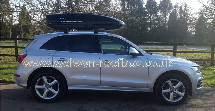 Thule Motion 800 | Welwyn Roofbox Hire