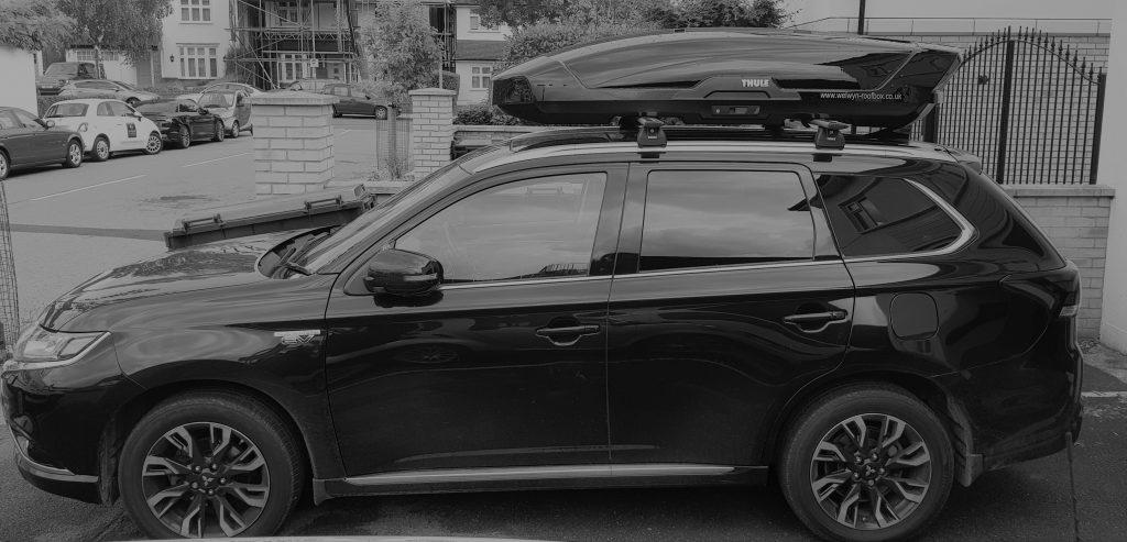 Mitsubishi Outlander Motion XT XL Welwyn Roofbox Hire