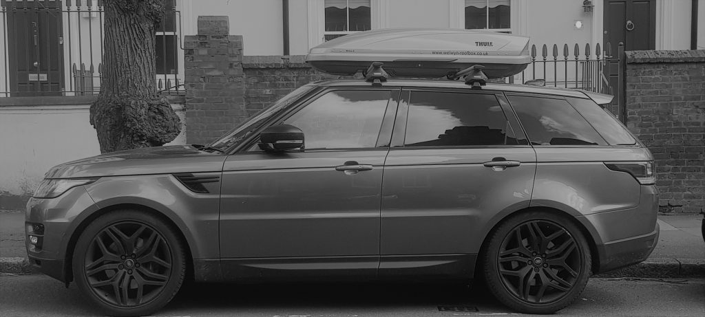 Range Rover Sport Thule Motion S Welwyn Roofbox Hire
